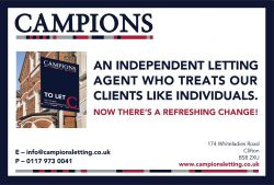 Campions Bristol Letting marketing campaign